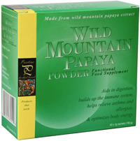 Wild Mountain Papaya Anti Oxidant Enzyme Powder Box Picture