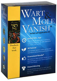 Wart Mole Vanish Box Picture